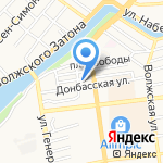 Добровольное пожарное общество на карте Астрахани