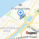 Октопус на карте Астрахани