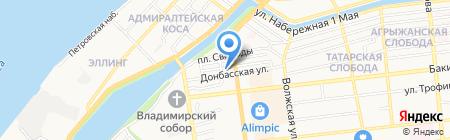 Партнер-Плюс на карте Астрахани