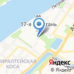 Астраханский линейный отдел Волжского управления государственного морского и речного надзора на карте Астрахани