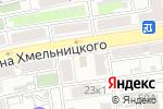 Схема проезда до компании Satin в Астрахани