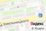 Схема проезда до компании Гармония в Астрахани