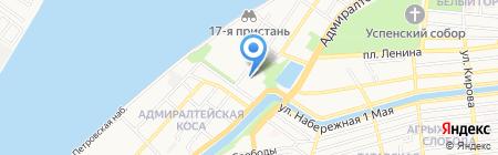 Лукойл-Приморьенефтегаз на карте Астрахани