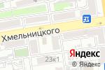 Схема проезда до компании Блик в Астрахани