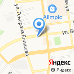 Блик на карте Астрахани
