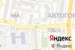 Схема проезда до компании Рози в Астрахани