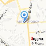 Рози на карте Астрахани