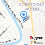 Строительно-монтажное управление №3 на карте Астрахани