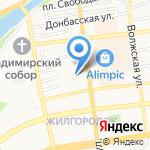 ПуЭр на карте Астрахани