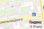 Схема проезда до компании Белизна в Астрахани