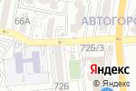 Схема проезда до компании Киоск по продаже молочной продукции в Астрахани