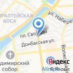 СТАТУС на карте Астрахани
