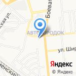 Бегемот на карте Астрахани