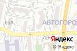 Схема проезда до компании Аквамир в Астрахани