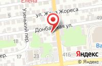 Схема проезда до компании Стражник в Астрахани