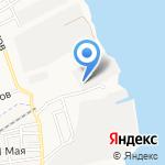 Евромет на карте Астрахани