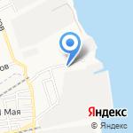 Детский сад №56 на карте Астрахани