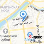 Infinity на карте Астрахани