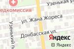 Схема проезда до компании Infinity в Астрахани