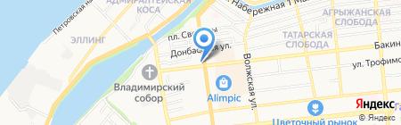 Институт моды на карте Астрахани