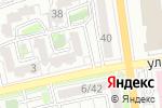 Схема проезда до компании Лиана в Астрахани
