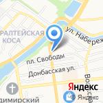 Лига Ставок на карте Астрахани