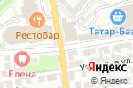 Схема проезда до компании Пиратская пристань в Астрахани