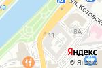 Схема проезда до компании Даф в Астрахани