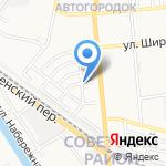 АстраханьЛифт на карте Астрахани