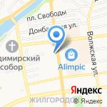 Мария на карте Астрахани