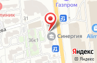 Схема проезда до компании Альбатрос Бизнес Кар Трансфер в Астрахани