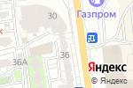 Схема проезда до компании Красный куб в Астрахани