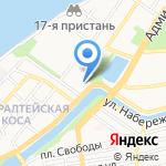 Организация Астраханского района гидротехнических сооружений и судоходства на карте Астрахани