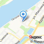 ТранзитАвто на карте Астрахани