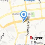 Кадастровый инженер Белозерцев А.И. на карте Астрахани