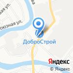 Потолков на карте Астрахани