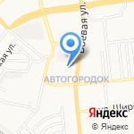 Астракино на карте Астрахани