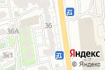 Схема проезда до компании Синергия в Астрахани