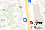 Схема проезда до компании Платон в Астрахани