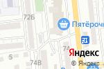 Схема проезда до компании Золотой Солод в Астрахани