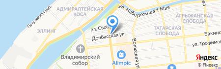Магазин инструмента на карте Астрахани