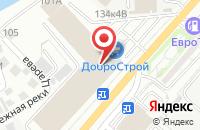 Схема проезда до компании ДоброСтрой в Астрахани