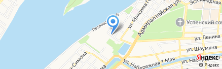 Центр экспертиз Южного федерального округа на карте Астрахани