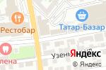 Схема проезда до компании Лапти в Астрахани