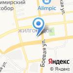 Жилкомсервис на карте Астрахани