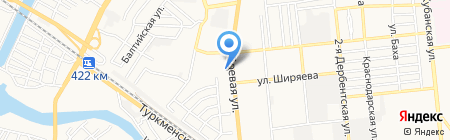 Золотой Солод на карте Астрахани