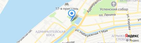 Лукойл-Нижневолжскнефть на карте Астрахани