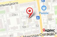 Схема проезда до компании Корвет в Астрахани