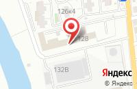 Схема проезда до компании Транссервис в Астрахани
