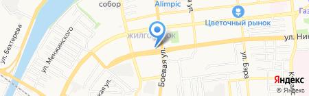 Стиль на карте Астрахани